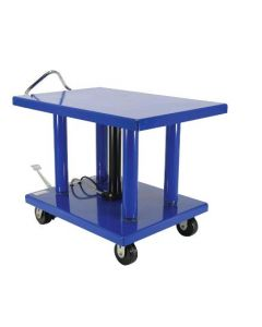 "Vestil Manual Hydraulic Post Table 32"" W x 42"" L, 6000 lb capacity"