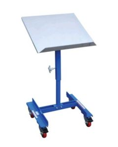 "Vestil Mobile Tilting Work Table 22"" x 21"" with Friction Screw, 150 lb. Capacity"