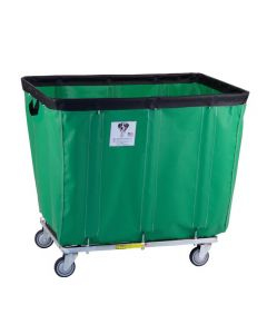 R & B Wire 16 Bu. Fully Sewn-On Vinyl Basket Truck Green