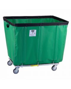 R & B Wire 24 Bu. Fully Sewn-On Vinyl Basket Truck Green