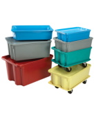 MFG Tray Stack & Nest Storage Containers